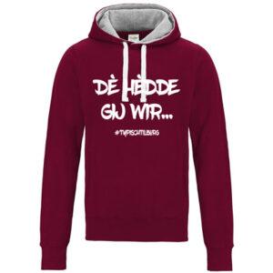 Hoodie met typische tilburgse uitspraken. 11 verschillende versie. HB-Webshop onderdeel van HB-Creations Tilburg Reeshof