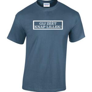 Gij zeet knap lillek. De enige echte Tilburgse Shirts verkrijgbaar bij HB-Webshop. Onderdeel van HB-Creations Tilburg Reeshof.