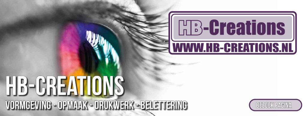 HB-Creations voor al uw grafische ondersteuning. Vormgeving, opmaak, drukwerk, beletteren. Van vistekaartje tot complete huisstyle. HB-Creations Tilburg Reeshof