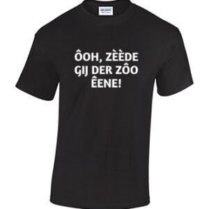 Ooh, zeede gij er zoo eene! Tilburgs T-shirt in diverse kleuren. Kruikenstad. HB-Webshop.com onderdeel van HB-Creations Tilburg Reeshof.